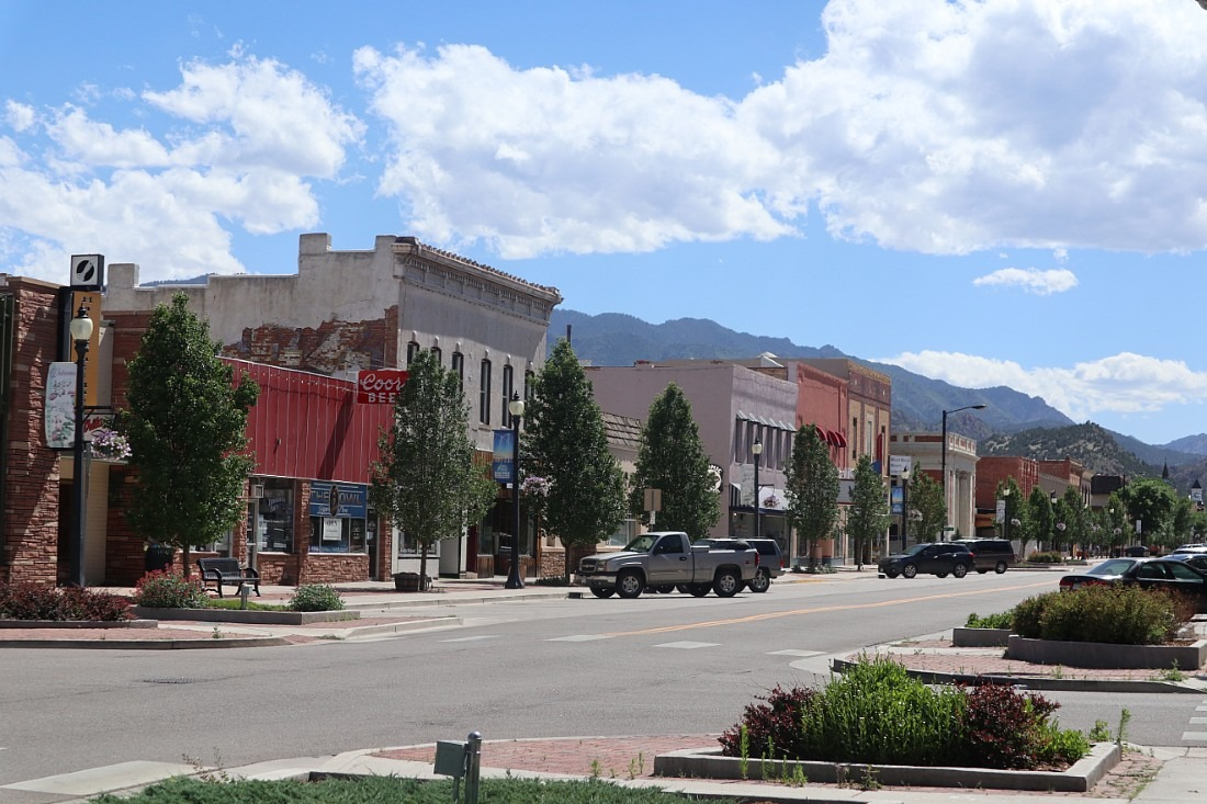 Canon City in Colorado