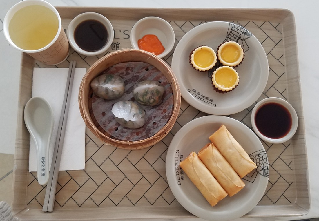 Add dumplings at Duddell's to your Hong Kong Food Itinerary