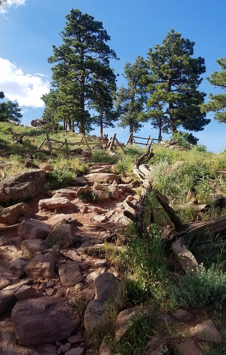 Hiking Mount Sanitas in Boulder