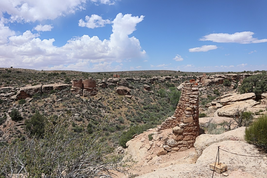 Hovenweep National Monument in Utah