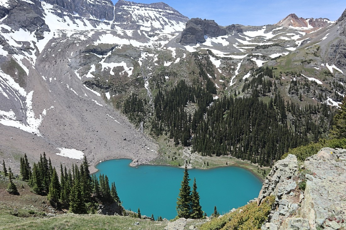 Blue Lakes in Mount Sneffels Wilderness
