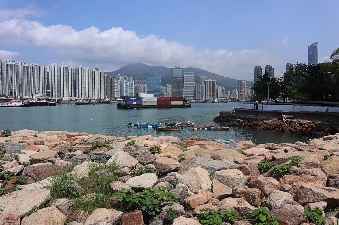 Tsing Yi Promenade in Hong Kong