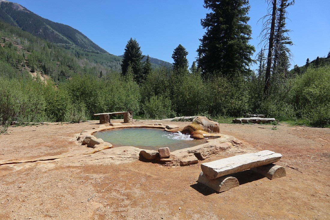 Rico Hot Springs in Colorado