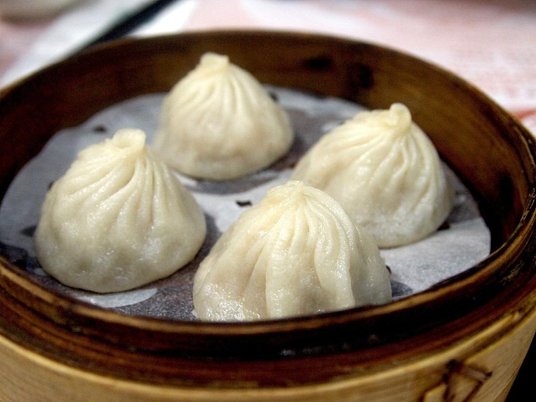 Soup dumplings at Din Tai Fung are a must try Hong Kong cheap eat