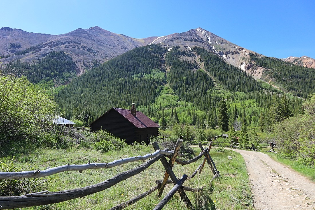 Winfield Ghost Town in Clear Creek Canyon, Colorado