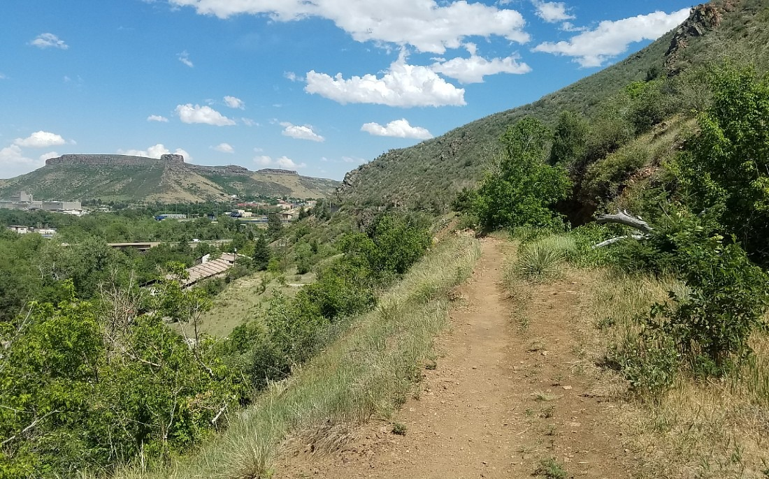 Hiking in Golden, Colorado