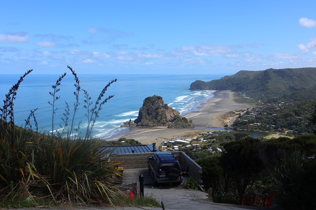 Piha view in Auckland