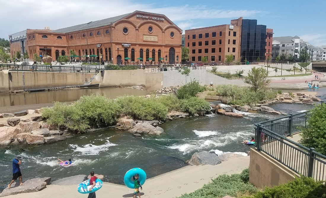 Confluence Park in Denver