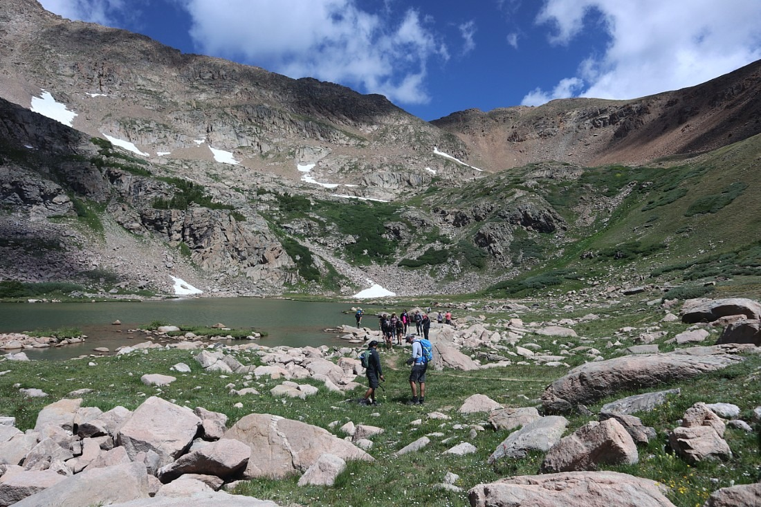 Herman Gulch hike near Idaho Springs