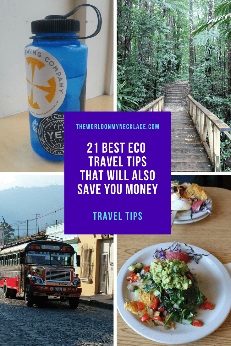 21 Best Eco Travel Tips That Will Also Save You Money