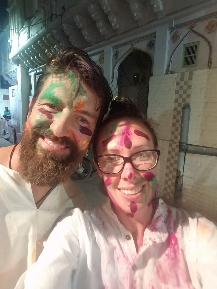 After the first night of Holi in Jodhpur