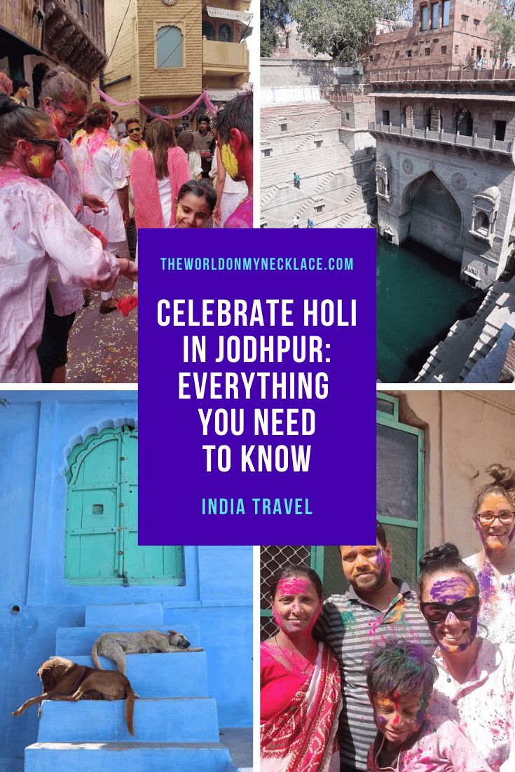 How to Celebrate Holi in Jodhpur, India