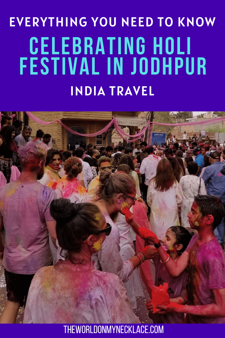 Celebrating Holi in Jodhpur