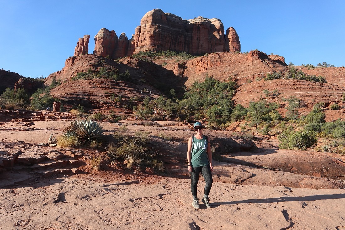 Hiking Cathedral Rock in Sedona