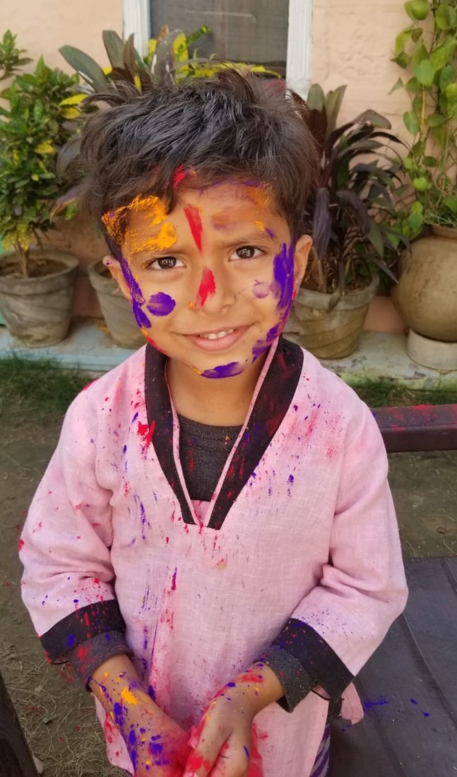 Local boy at Jodhpur Holi