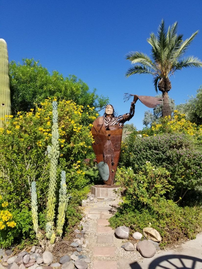 Old Town Scottsdale garden