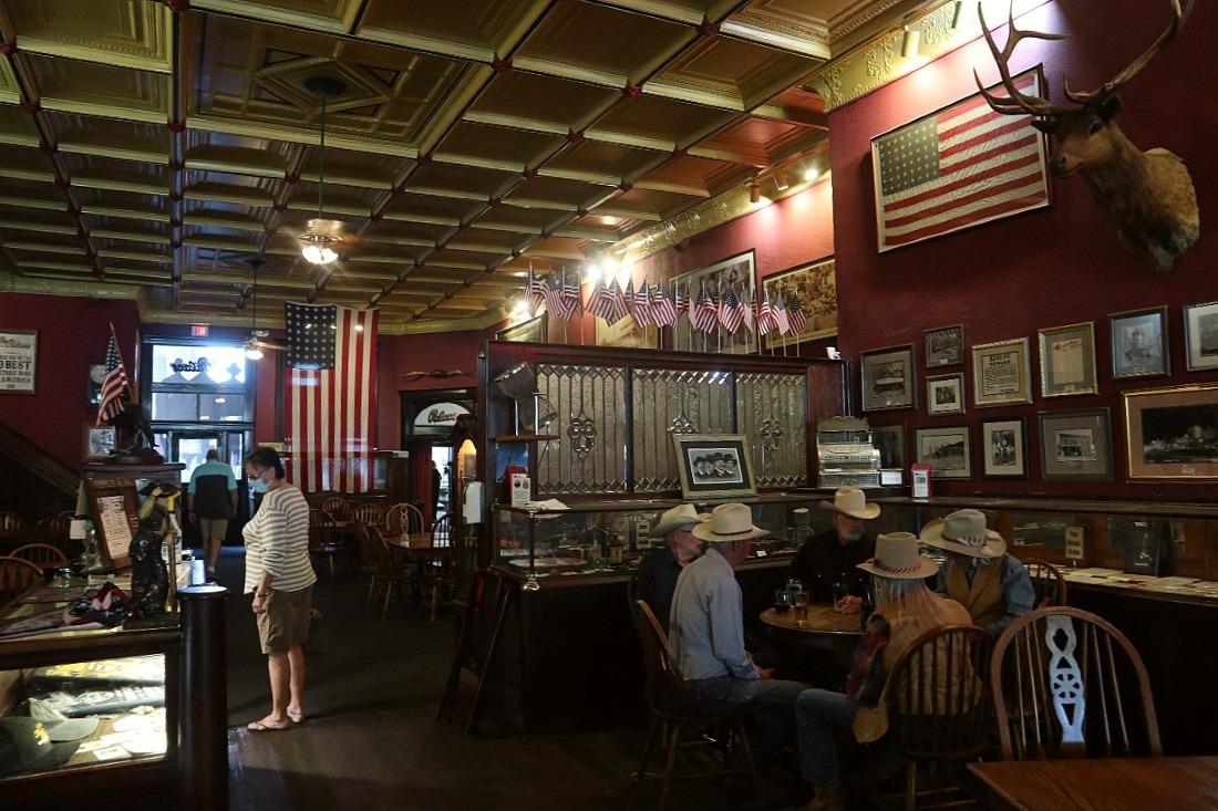 Cowboys in Saloon in Prescott