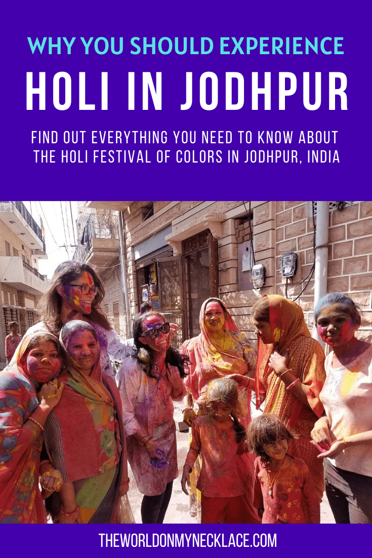 Why you Should Experience Holi in Jodhpur