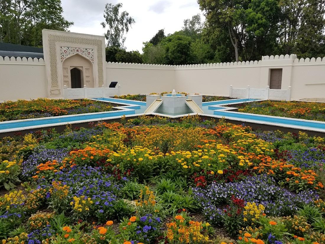 Indian Garden at Hamilton Gardens