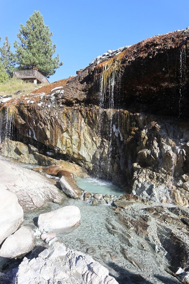 Kirkham Hot Springs in Idaho