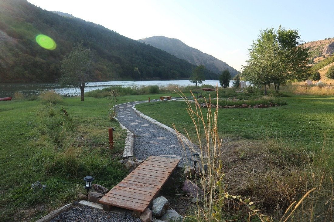 Maple Grove Hot Springs Retreat in Idaho