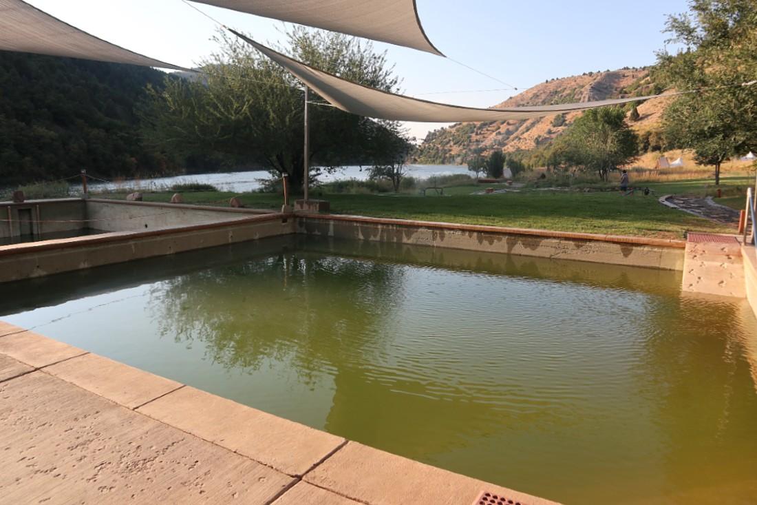 Maple Grove Hot springs pool