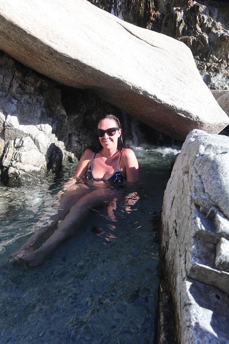 Secret Hot Spring at Kirkham Hot Springs