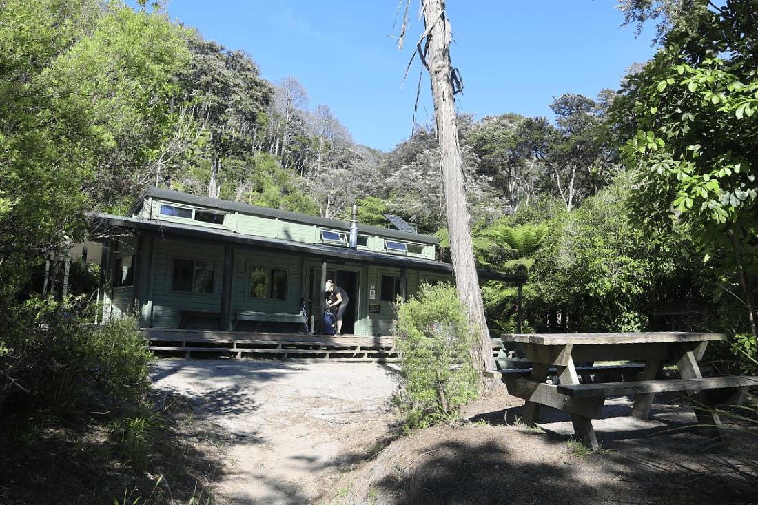 Bark Bay Hut