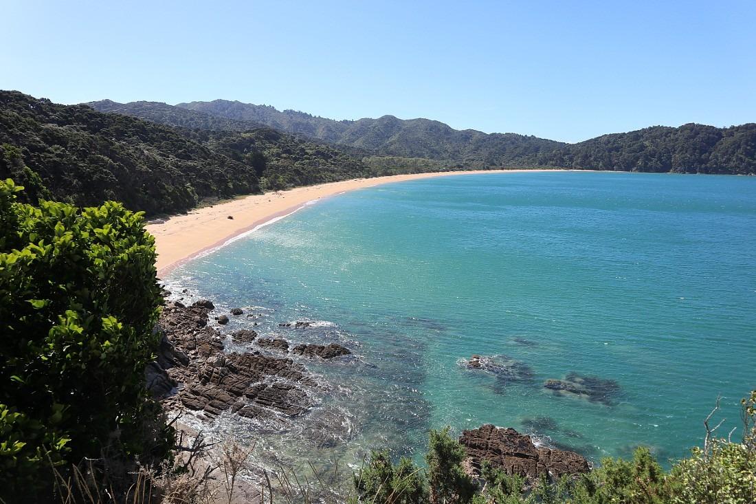 Beach in Abel Tasman National Park