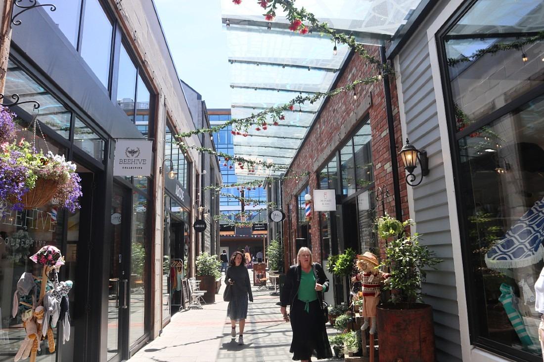 Laneways in Christchurch