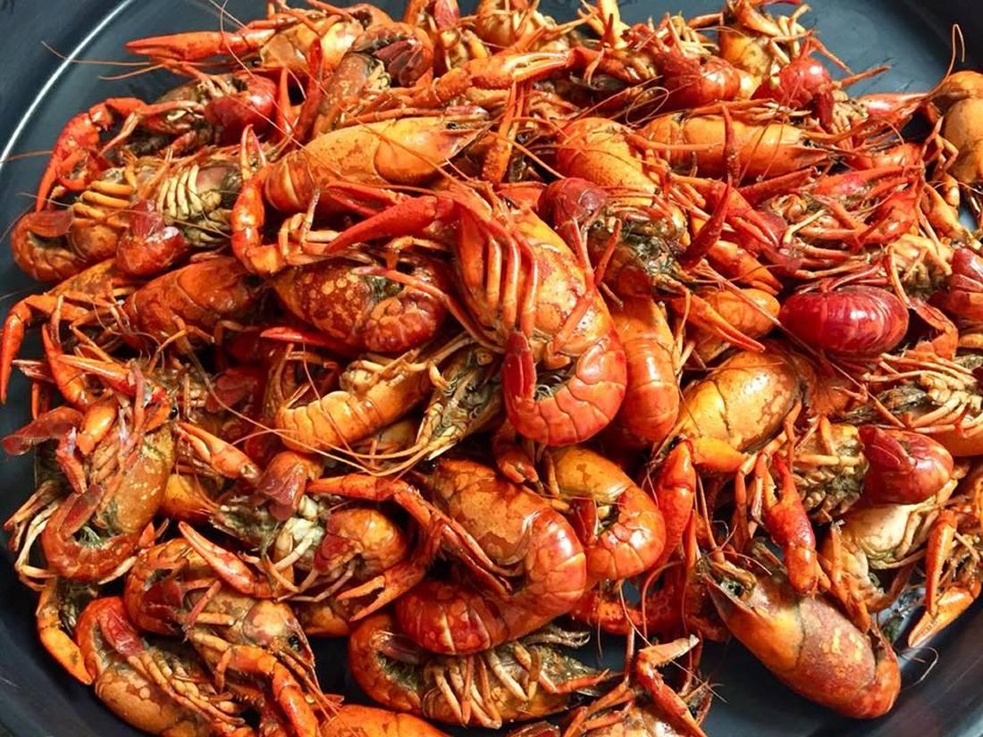 Add crawfish to your Louisiana food bucket list