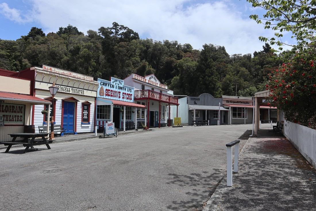 Shantytown in Hokitika