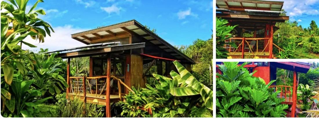 Hale Ulu Farm Stay cottage in Hawaii