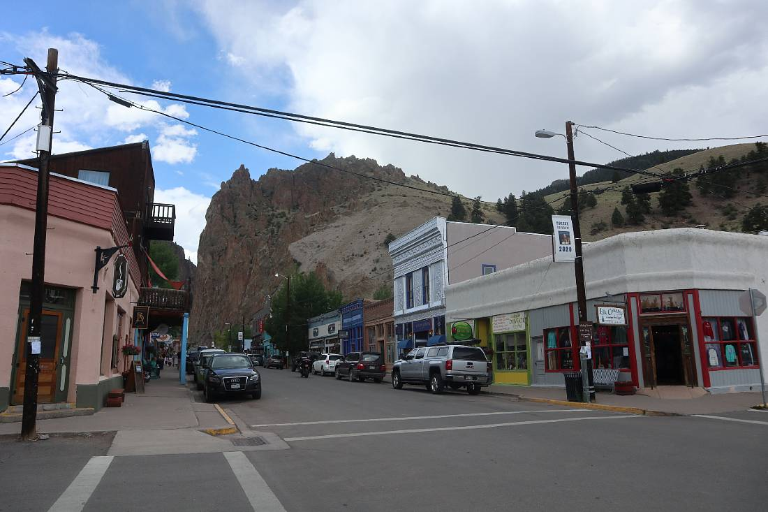 Downtown Creede, one of the most obscure mountain towns in Colorado