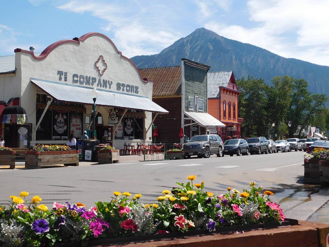 Downtown Crested Butte, one of the best Colorado Mountain Towns