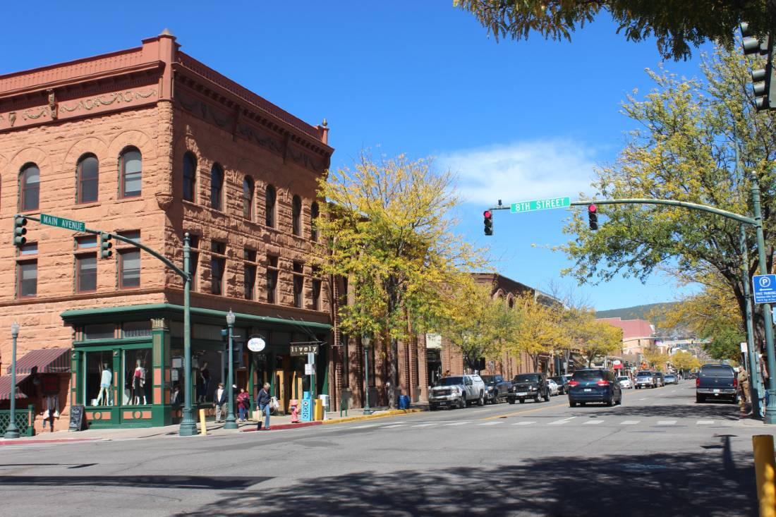 Durango is an awesome stop on a Colorado Road Trip