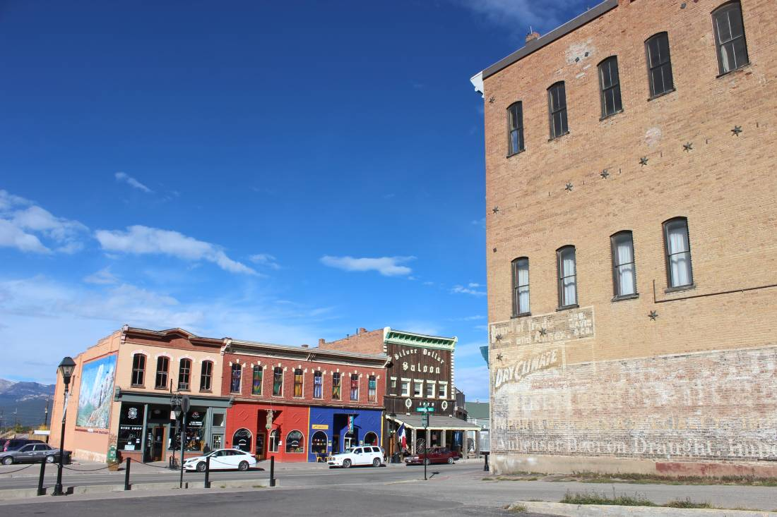 Downtown Leadville, one of the best Colorado Mountain Towns