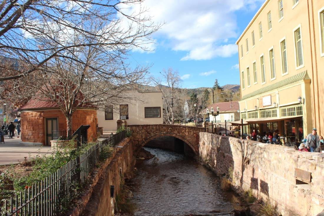Manitou Springs, one of the best mountain towns in Colorado