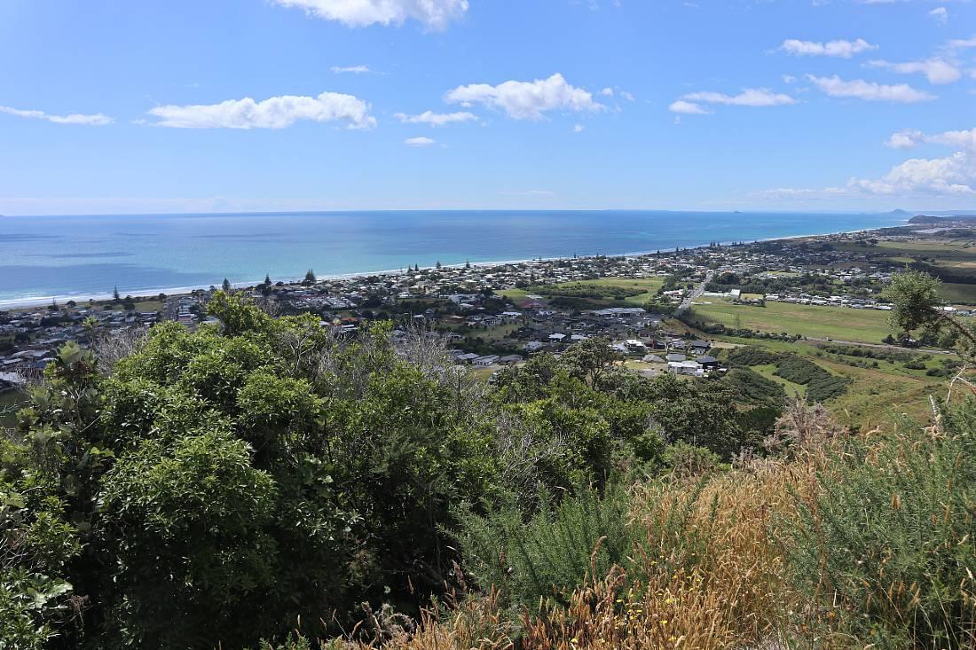 View over Waihi Beach