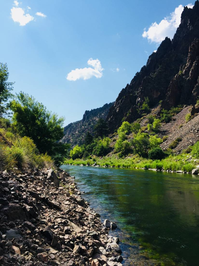 Black Canyon of the Gunnison - one of the best hidden gems of Colorado