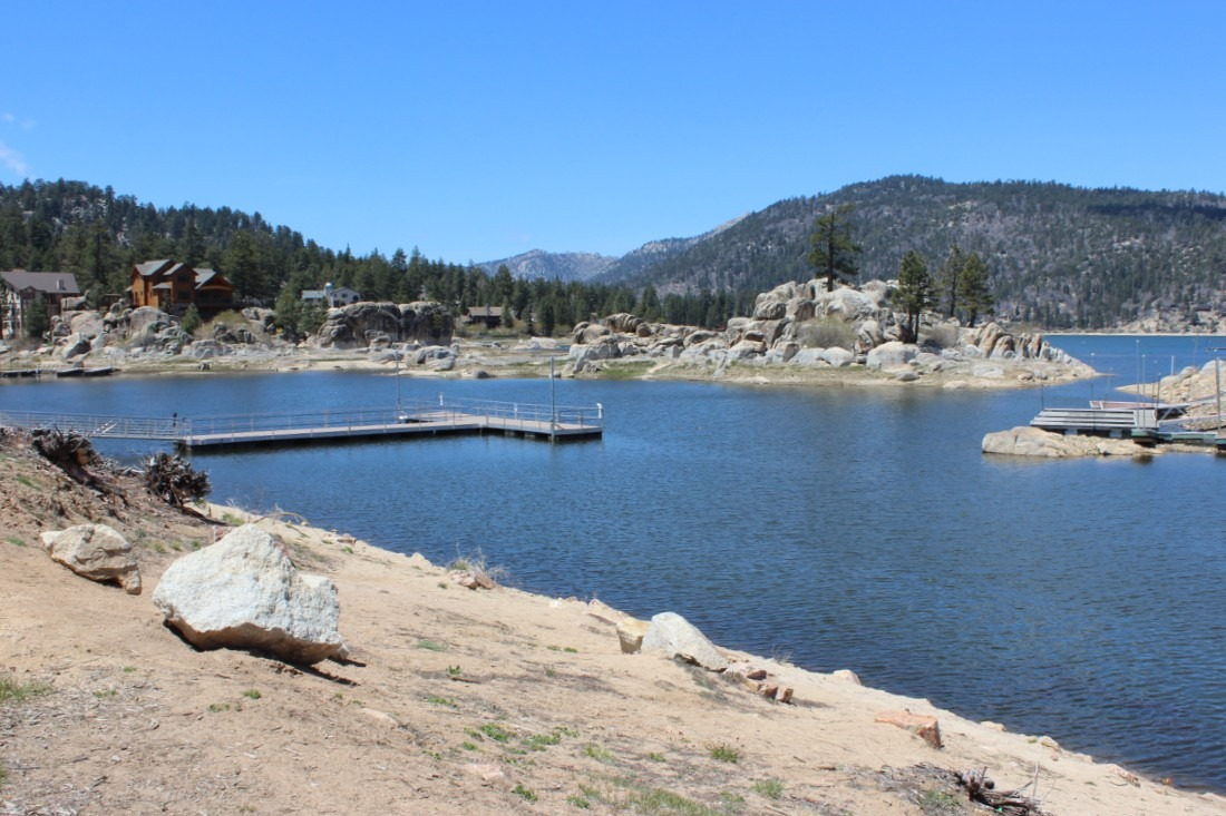 Boulder Bay Park in Big Bear