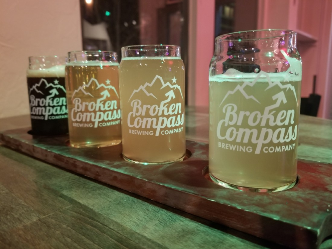 Broken Compass beer