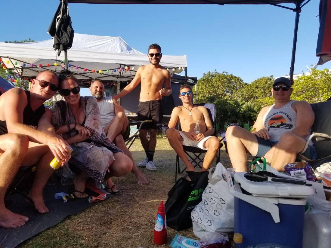 Camping at Uretiti