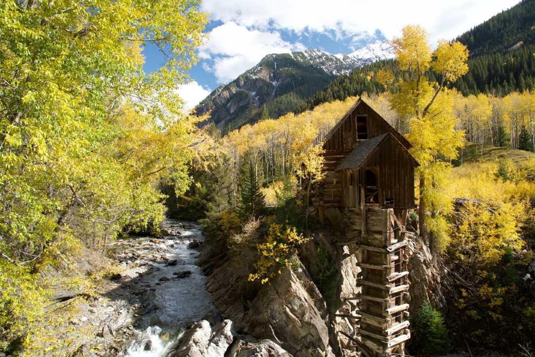Crystal Mill is one of the must-visit hidden Gems in Colorado