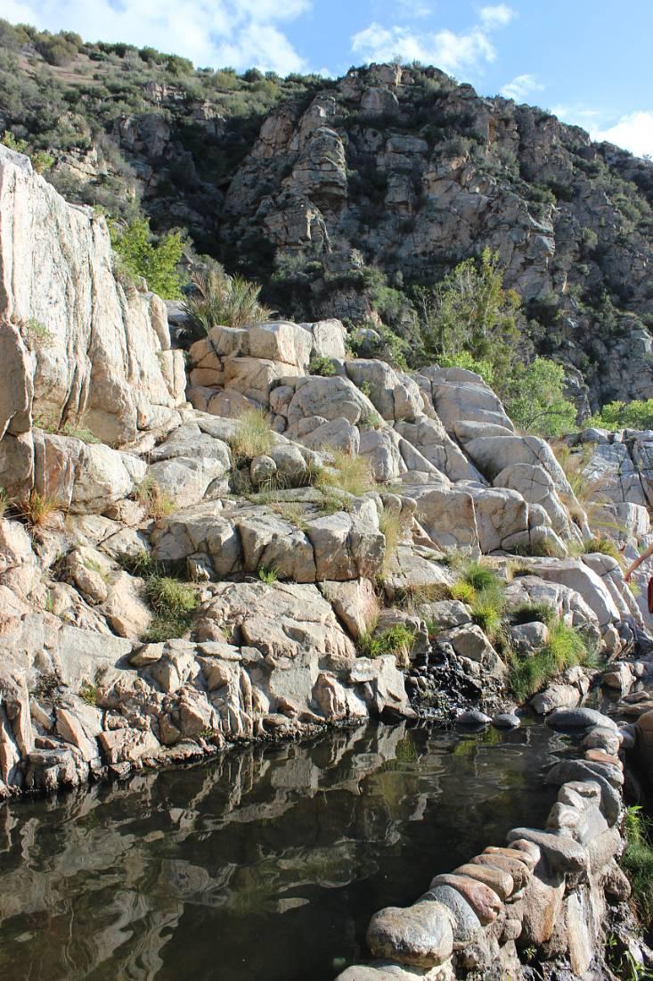 Deep Creek Hot Springs in California