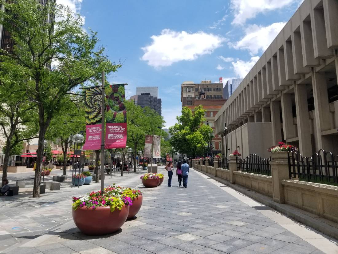 Explore downtown during your 3 days in Denver