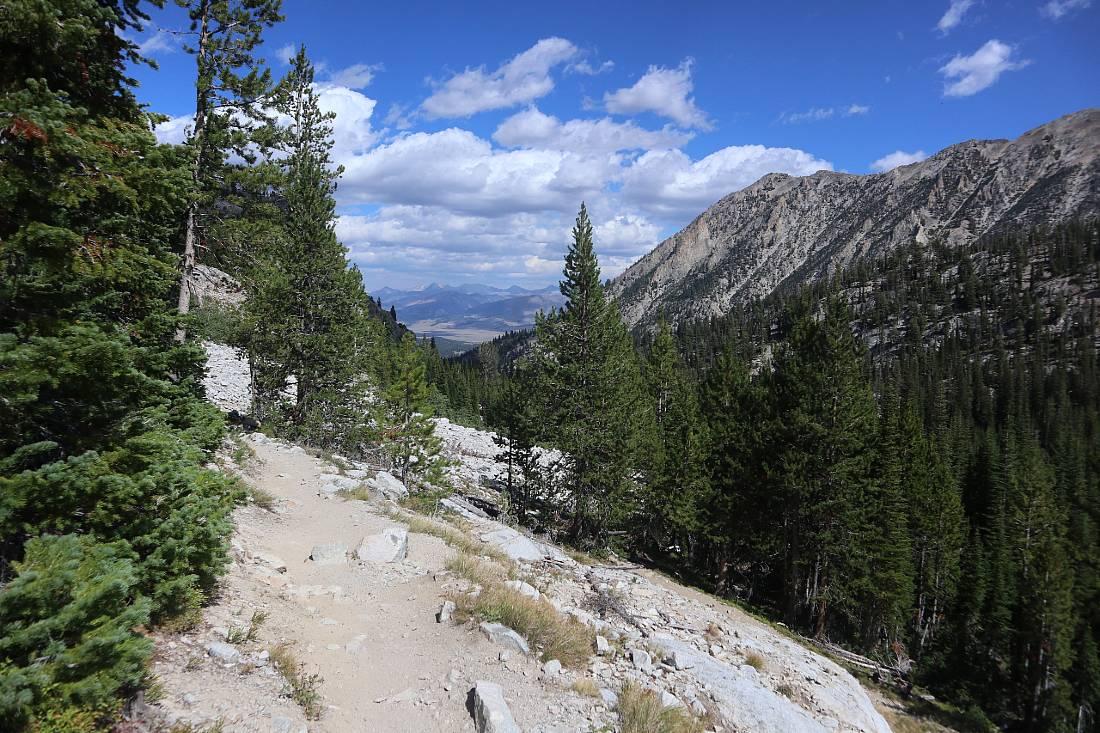Hiking the Alice Lake trail in Idaho