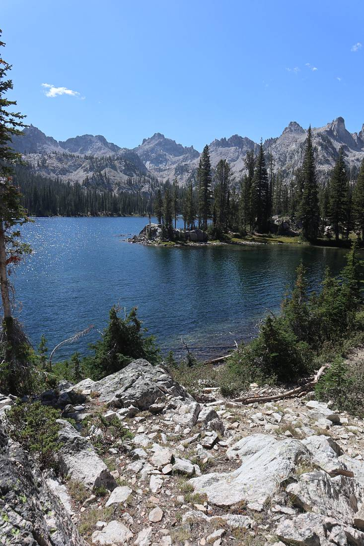 Lunch spot on the Alice Lake trail