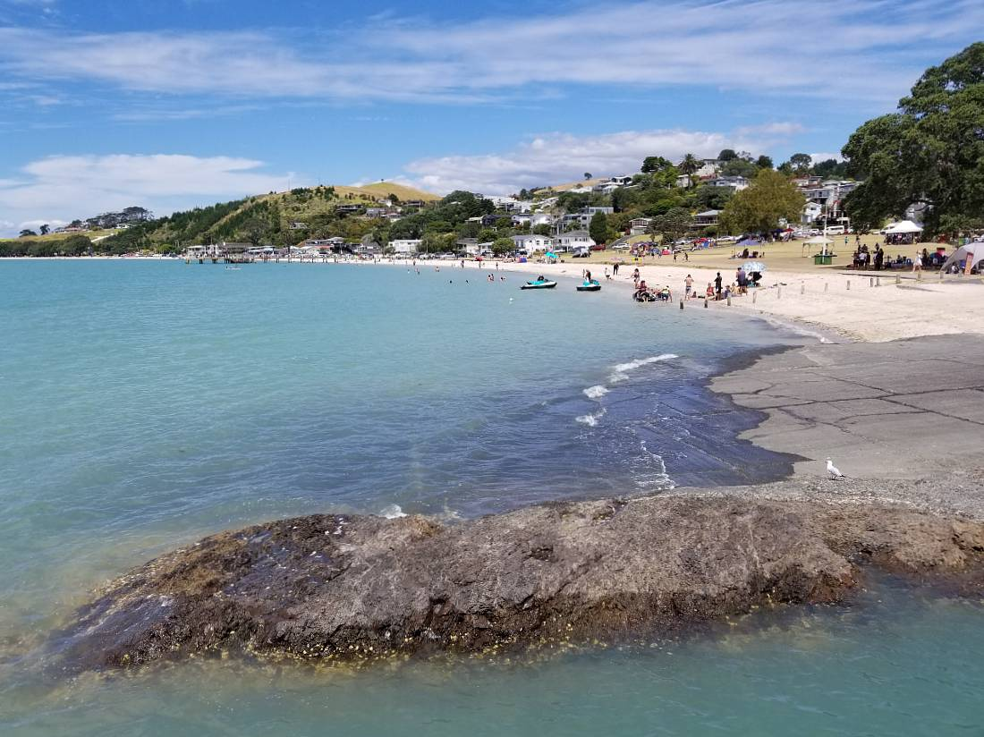 Maraetai Beach in Auckland is one of the fun places to go in Auckland