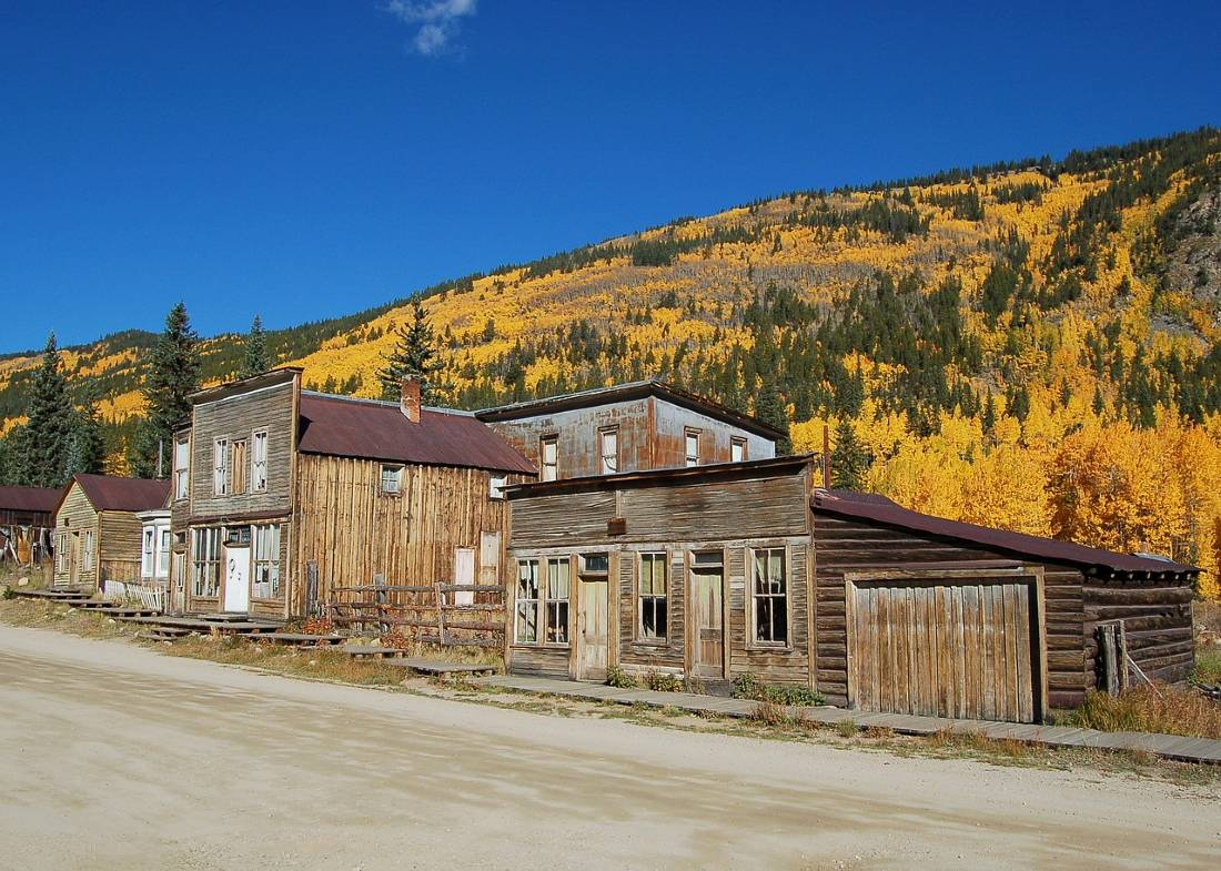 Visit St Elmo on your Colorado Road Trip